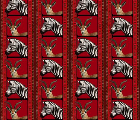 African Savanah  fabric by hauteideas on Spoonflower - custom fabric
