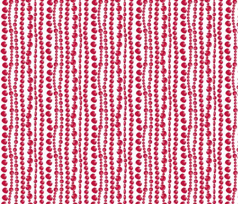 RED BEADS fabric by newmomdesigns on Spoonflower - custom fabric