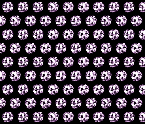 Purple  Scribbler fabric by pond_ripple on Spoonflower - custom fabric