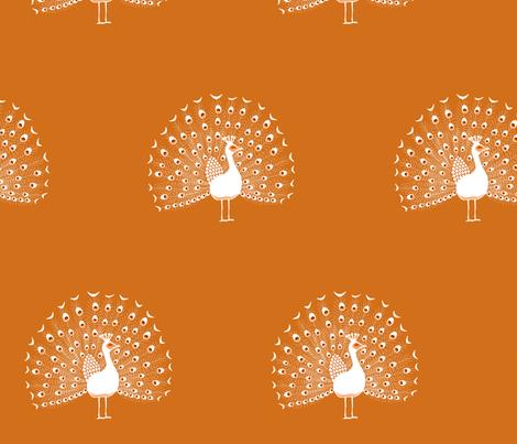 peacockbrick fabric by mrshervi on Spoonflower - custom fabric