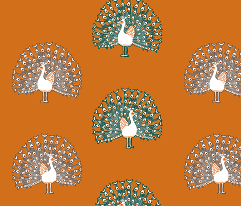 peacockmulti fabric by mrshervi on Spoonflower - custom fabric
