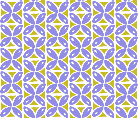 lime n' lavender drops fabric by studiozandra on Spoonflower - custom fabric