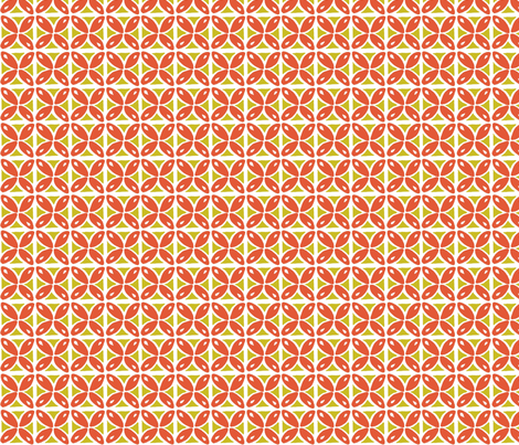 deep orange drops fabric by studiozandra on Spoonflower - custom fabric
