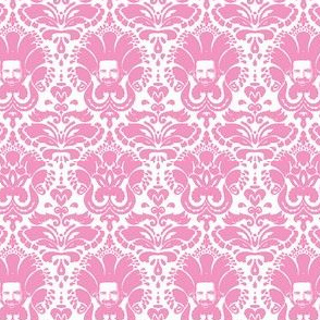 Billy Mays Damask- Bubblegum