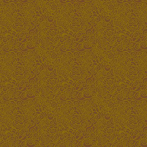 Desert Wind Mocha - © Lucinda Wei fabric by lucindawei on Spoonflower - custom fabric