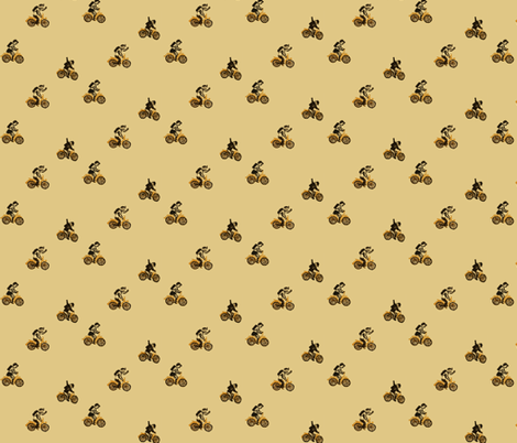 DDR bicycling fabric by anda on Spoonflower - custom fabric