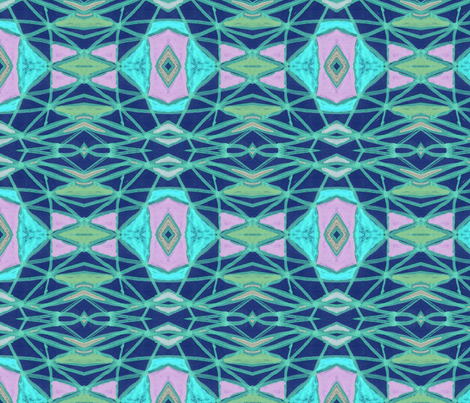 Chalk Drawing Angles fabric by relative_of_otis on Spoonflower - custom fabric