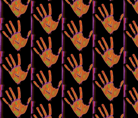 Need a Hand? fabric by relative_of_otis on Spoonflower - custom fabric