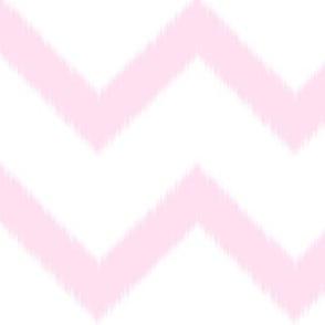 Pink Chevron Ikat