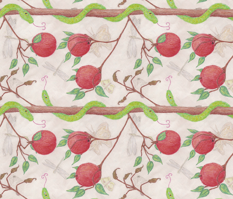 stolen_life fabric by victorialasher on Spoonflower - custom fabric