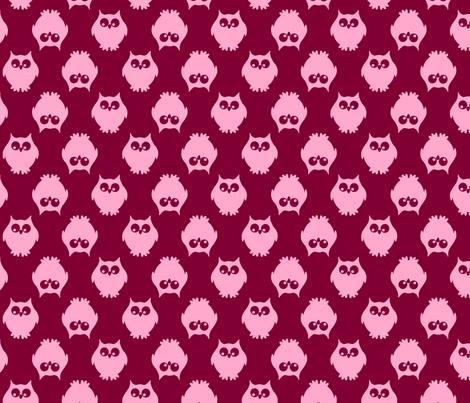 Owls, Owls, Owls fabric by wollhuhn on Spoonflower - custom fabric
