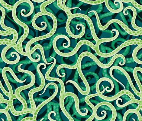 Cephalopod Soup fabric by spellstone on Spoonflower - custom fabric