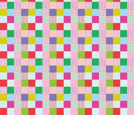 Dots and Stripes fabric by carinaenvoldsenharris on Spoonflower - custom fabric