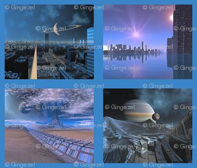 3010 Sci Fi Tourist © 2010 Gingezel™ Inc.