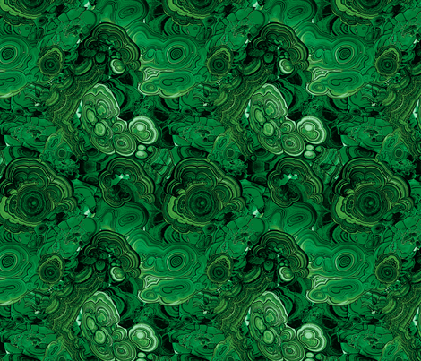 Malachite fabric by ravynka on Spoonflower - custom fabric