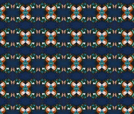 The Mad Hatter's Head fabric by kitcameo on Spoonflower - custom fabric