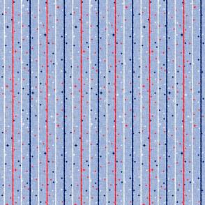 Vintage Patriotic Stripe