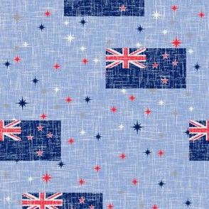 Vintage Patriotic Kiwi
