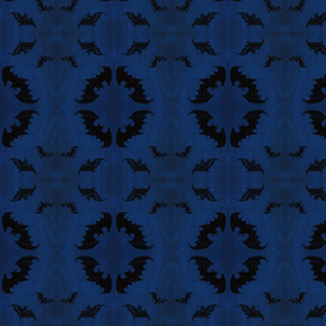 Hatter's Bats fabric by kitcameo on Spoonflower - custom fabric