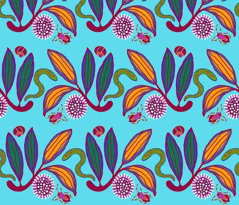 Hakea fabric by yellowstudio on Spoonflower - custom fabric