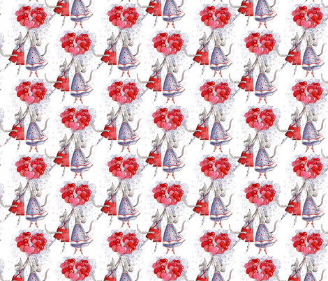 little_mouses fabric by nadja_petremand on Spoonflower - custom fabric