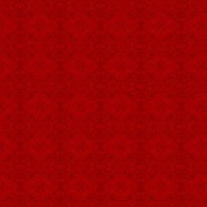 RED CRACKLE by SUE DUDA