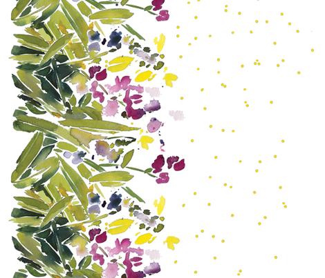 C'EST LA VIV™ OH SWEET PEA 28  fabric by cest_la_viv on Spoonflower - custom fabric