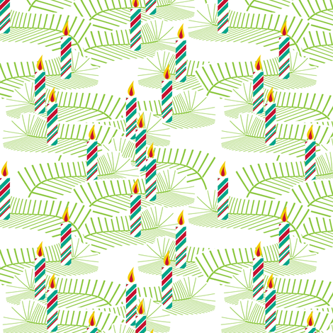Well Lit - Humbug fabric by inscribed_here on Spoonflower - custom fabric