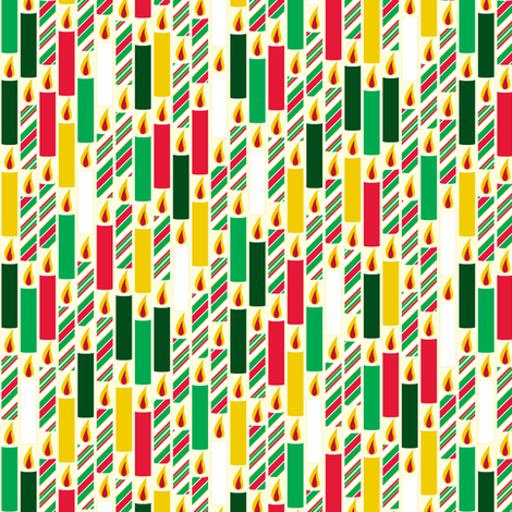 Candle Candy - Jingle fabric by inscribed_here on Spoonflower - custom fabric