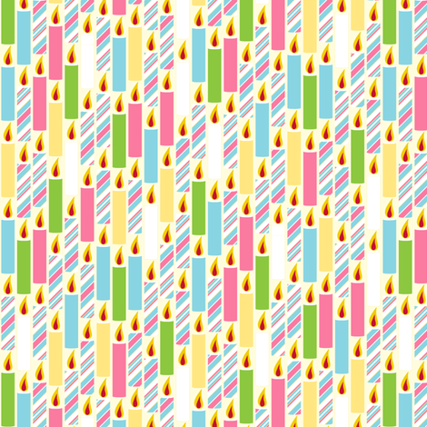 Candle Candy - Baby fabric by inscribed_here on Spoonflower - custom fabric