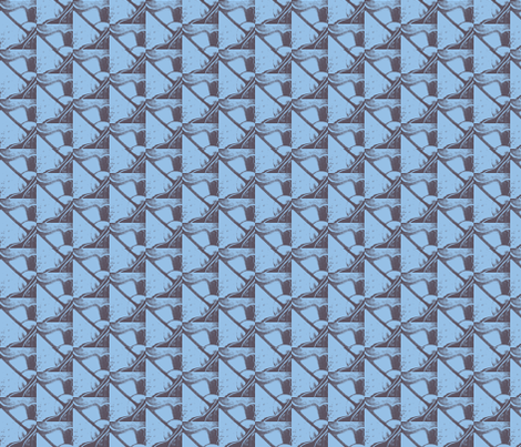 DaVinciBlue fabric by mr_beck on Spoonflower - custom fabric