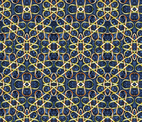 Borromean Knot One Mirror fabric by helenklebesadel on Spoonflower - custom fabric