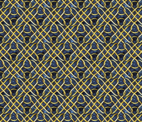 Knot Number Two fabric by helenklebesadel on Spoonflower - custom fabric