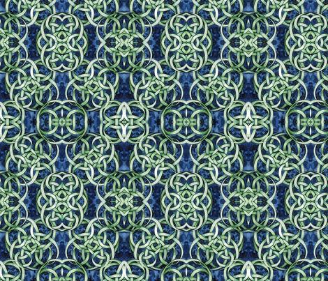 Knot Number Six Mirror fabric by helenklebesadel on Spoonflower - custom fabric
