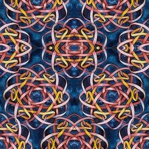 Borromean Knot Three Mirror