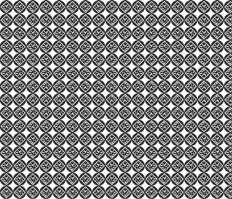 Abstract Black and White  fabric by poetryqn on Spoonflower - custom fabric