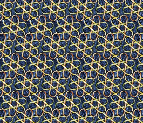 Borromean Knot One fabric by helenklebesadel on Spoonflower - custom fabric