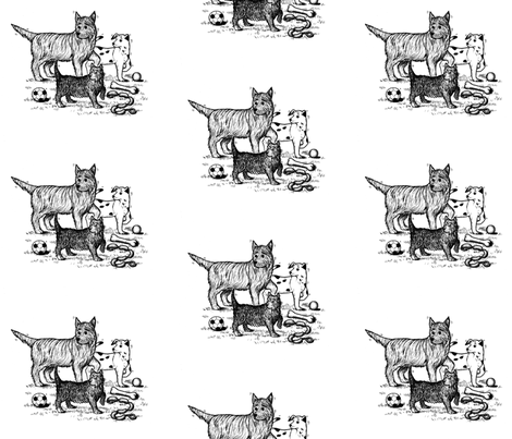 The_Great_Escape fabric by woodlandia on Spoonflower - custom fabric