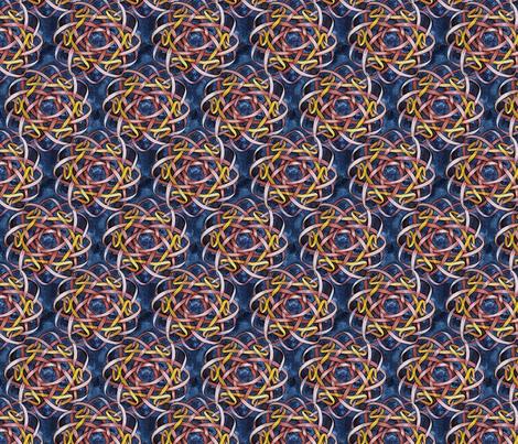 Borromean Knot Three fabric by helenklebesadel on Spoonflower - custom fabric