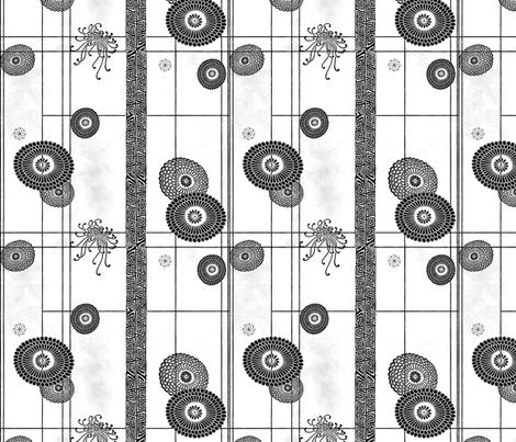 Silk Road II fabric by poetryqn on Spoonflower - custom fabric