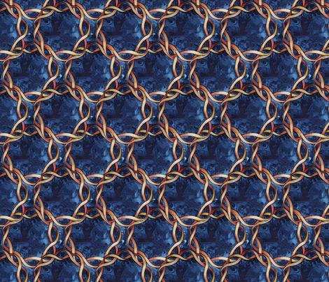 Knot Number Three fabric by helenklebesadel on Spoonflower - custom fabric