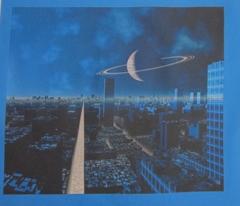 3010 Sci Fi Ringed Planet © 2010 Gingezel™ Inc.