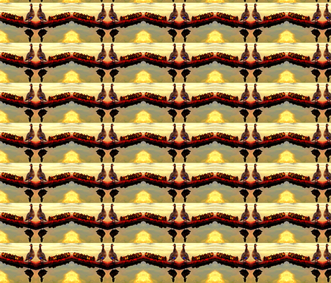 Ducklings at Dawn fabric by robin_rice on Spoonflower - custom fabric