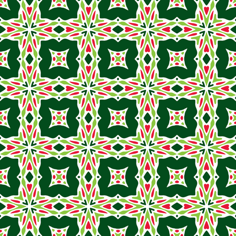 Love to Celebrate - jingle fabric by inscribed_here on Spoonflower - custom fabric