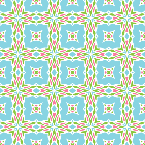 Love to Celebrate - baby fabric by inscribed_here on Spoonflower - custom fabric