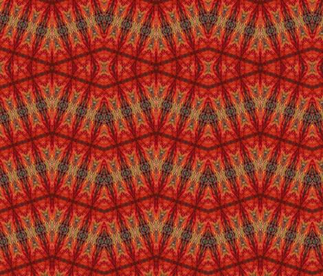 "SUNSET ZIPZAG-LG SCALE 48x48"" by SUE DUDA fabric by suedudadesigns on Spoonflower - custom fabric"