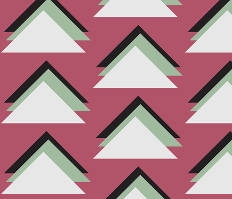 triangles2 fabric by dolphinandcondor on Spoonflower - custom fabric