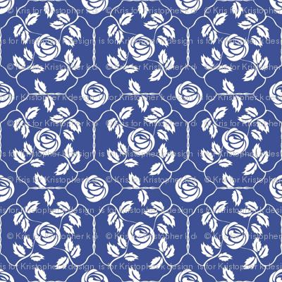 Delft Rose - White