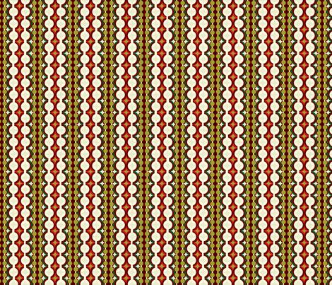Mod Geo Xmas: Festive Geo fabric by bronhoffer on Spoonflower - custom fabric