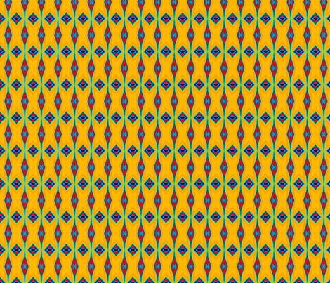 Mandarine fabric by papercrete on Spoonflower - custom fabric